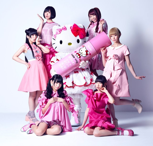 Dempagumi.inc x Hello Kitty