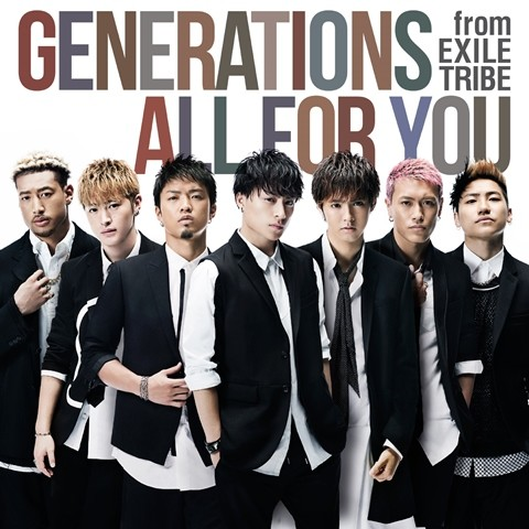 GENERATIONS from EXILE TRIBE DVD