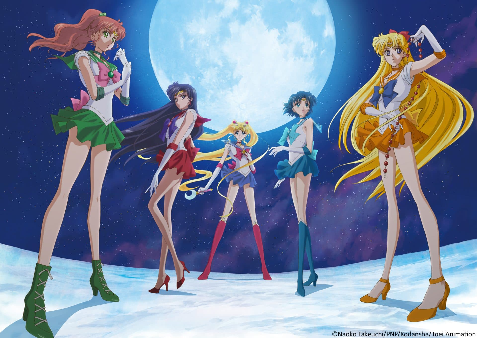 Sailor Moon Crystal': © Naoko Takeuchi/PNP/Kodansha/Toei Animation