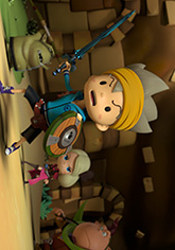 The Snack World Movie