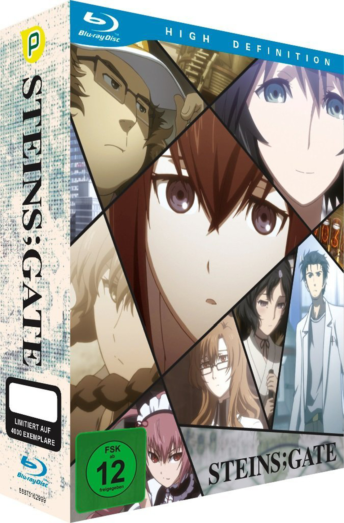 Steins;Gate Cover Limited Edition / © peppermint anime