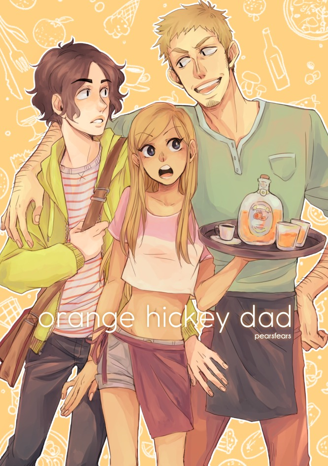 Orange Hickey Dad Cover deutscher Manga Pearsfears