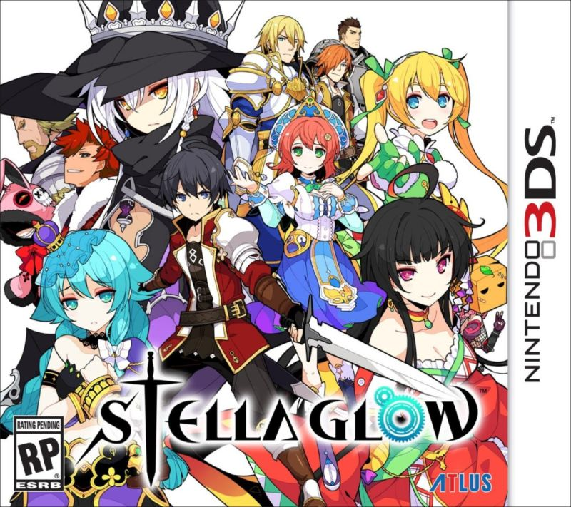 Stella Glow 3DS Cover