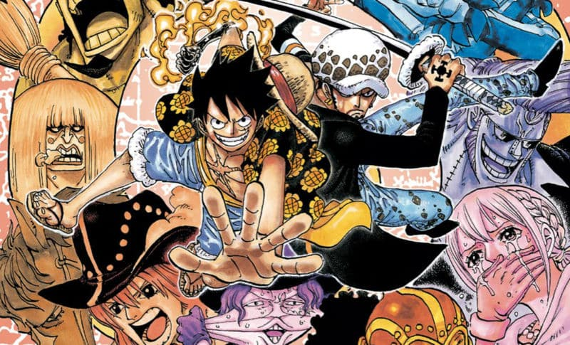 one piece band 76 / Mangaka