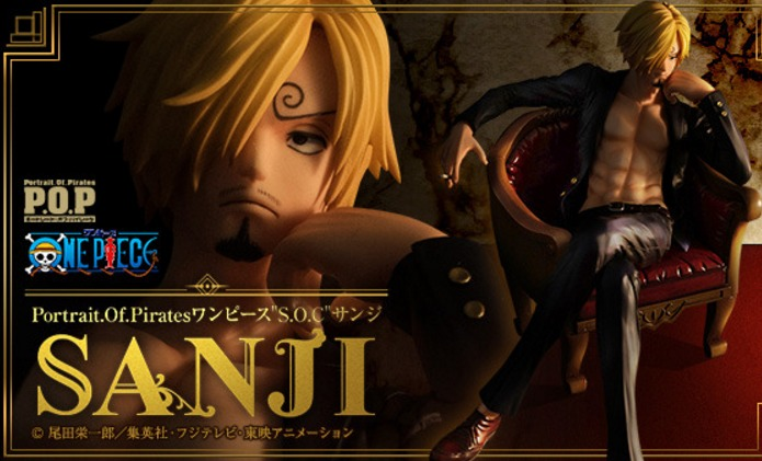 "Portrait.Of.Pirates One Piece ""S.O.C"" Sanji"
