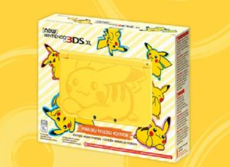 New Nintendo 3DS XL Pikachu Yellow Edition 171391