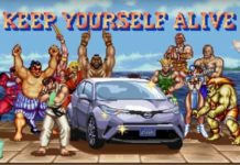 Toyota, Street Fighter II