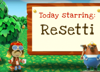 Resetti Animal Crossing