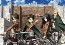 attack on titan joypolis