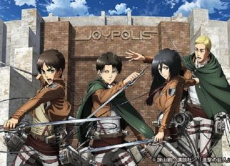 attack on titan jyopolis 324x235 - Top Ten der beliebtesten Anime Charaktere in Japan