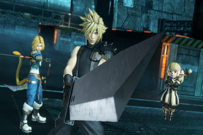 Dissidia Final Fantasy NT Auf in den Kampf