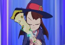 Little Witch Academia Toki no Maho to Nanafushigi Volle Konzentration