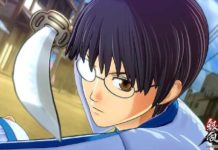 Gintama Rumble Shinpachi Shimura