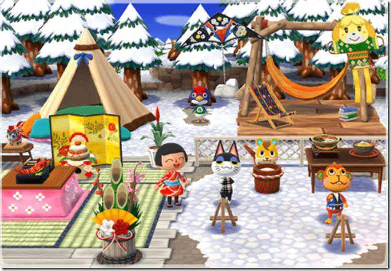 Animal Crossing: Pocket Camp Neujahr