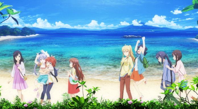 Non Non Biyori Vacation Artwork