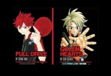 full drive & golem hearts