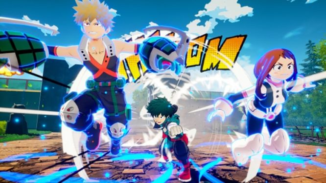 My Hero Academia Ones Justice Sidekick System