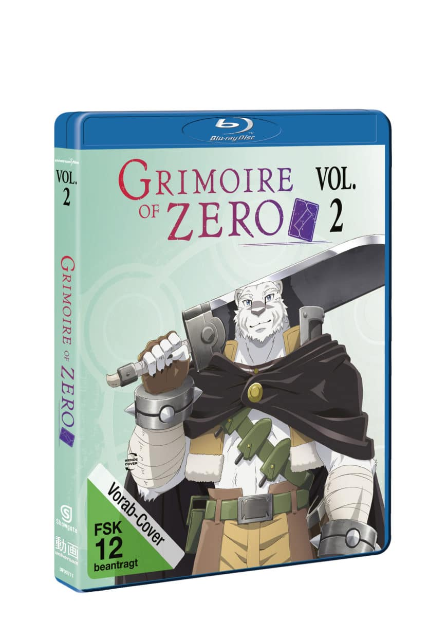 Grimoire of Zero – Vol. 2 Packshot