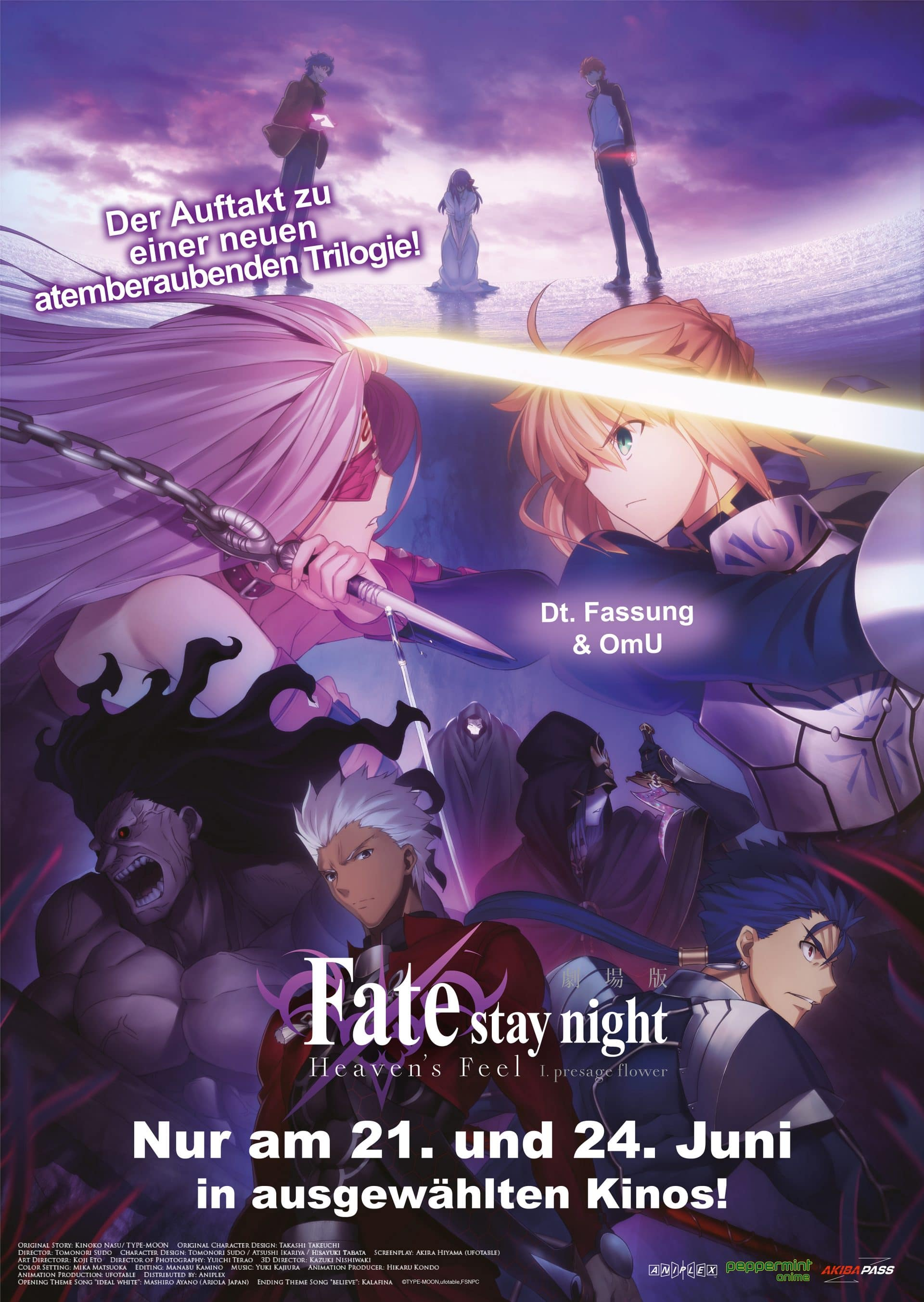Fate/stay night [Heaven's Feel] - Poster