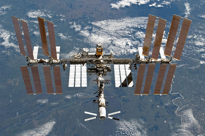 ISS Raumstation