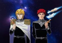 Eis essen mit The Legend of the Galactic Heroes