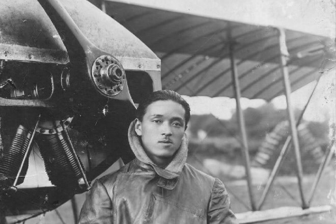 Harry Fusao O'Hara, japanese pilot for the Royal air Force Britain