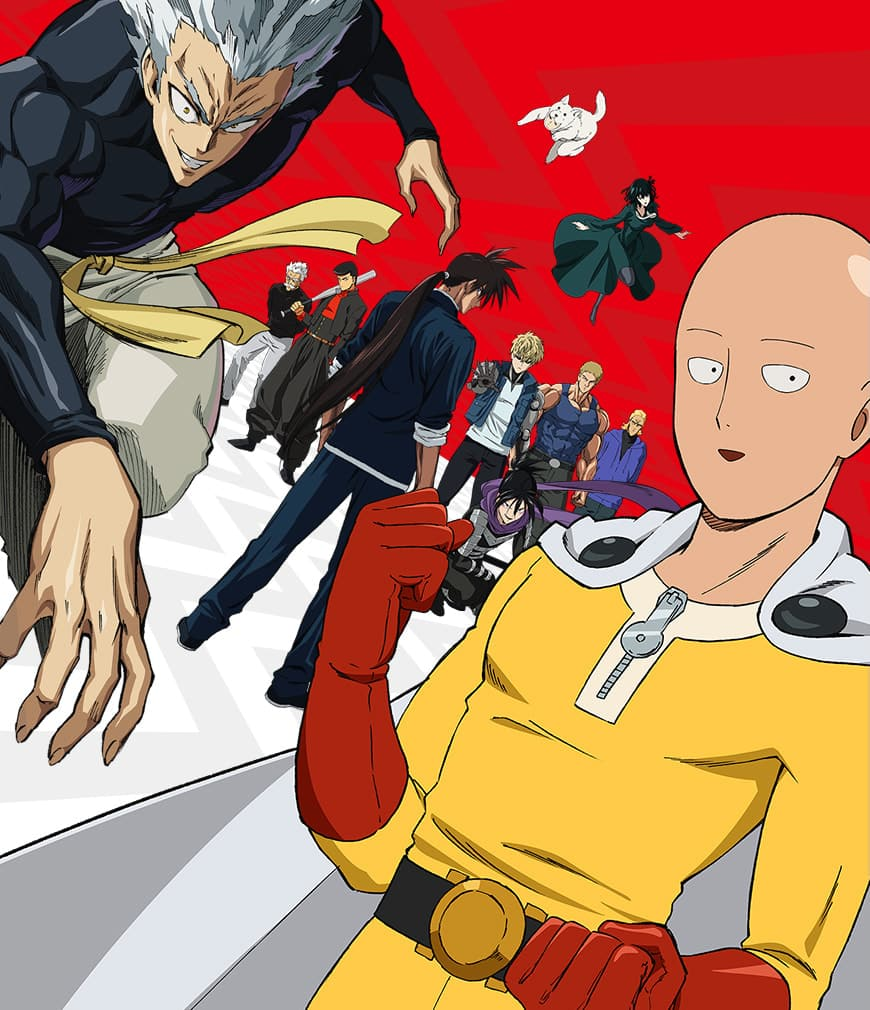 One-Punch Man Staffel 2